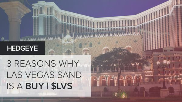Las Vegas Sands (LVS): Best Idea Long Call Today - LVS