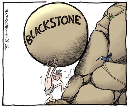 BlackStone Group (BX) | Economic Gravity - Adding to Best Ideas List as a Short - cover invite smaller