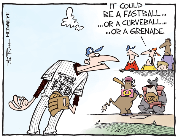 Cartoon of the Day: Strikeout? - Fed pitcher cartoon 08.31.2016