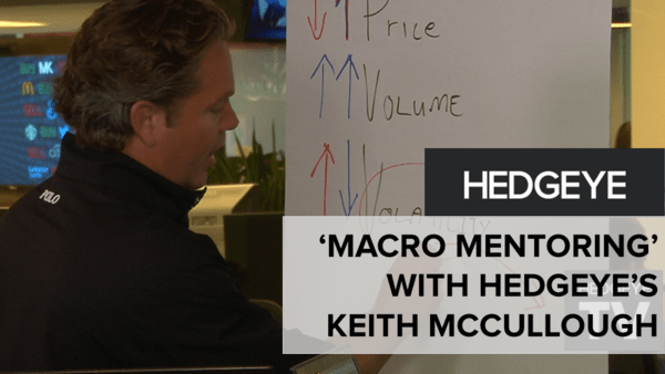 'Macro Mentoring' With Hedgeye's Keith McCullough - Slide2