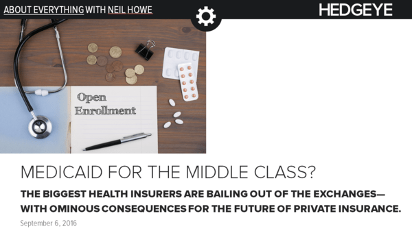 About Everything: Medicaid for the Middle Class? - neil cover