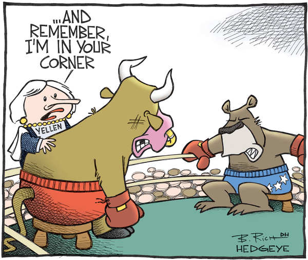 Cartoon of the Day: Raging Bull - Bull   bear boxing cartoon 09.07.2016