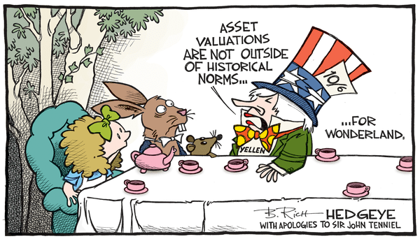 Cartoon of the Day: Janet In Wonderland - Yellen Madhatter.09.22.2016