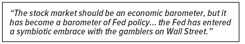 Guest Contributor | Stockman: The Fed's Monetary Politburo Is Finally Catching Some Flack - stockman callout