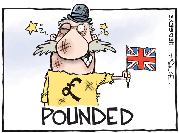 Pounded! Why The UK's Super Wealthy Love Currency Devaluation - Pound cartoon 07.05.2016