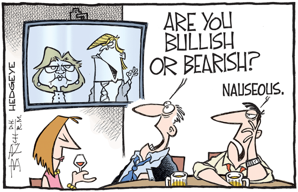 This Week In Hedgeye Cartoons - Clinton Trump cartoon 10.06.2016