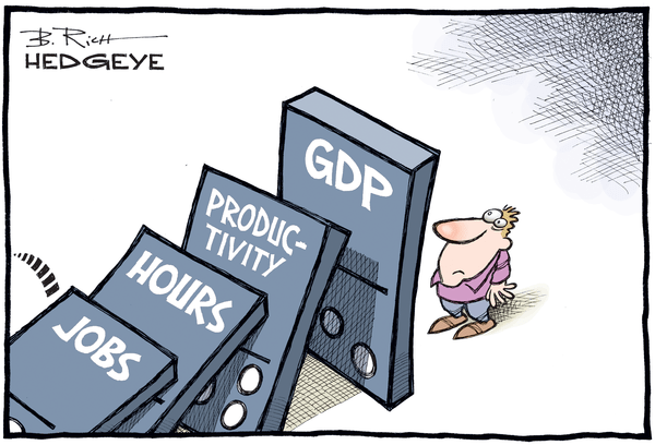 This Week In Hedgeye Cartoons - GDP cartoon10.07.2016