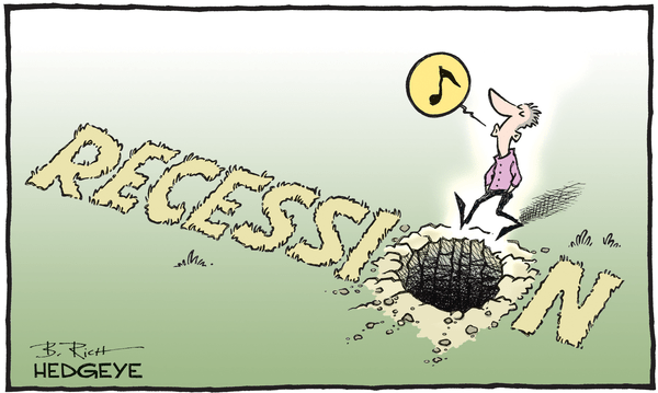 Double Dip Industrial Recession? Yup. Just Ask Honeywell & Dover - recession cartoon 04.14.2016