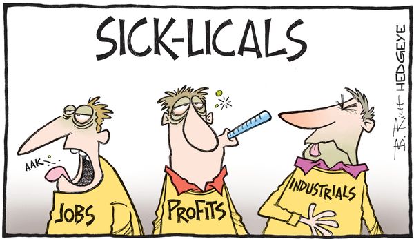 Cartoon of the Day: Economic Ills - cyclicals cartoon 10.11.2016