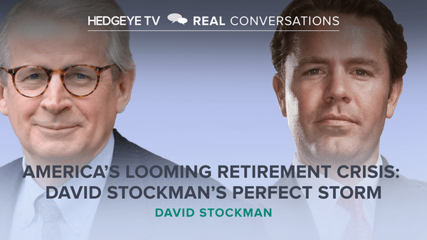 America's Looming Retirement Crisis: David Stockman's Perfect Storm  - RC DS Clip Thumb