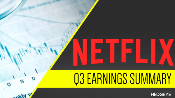 Netflix's Earnings: 6 Things You Need To Know - nflx