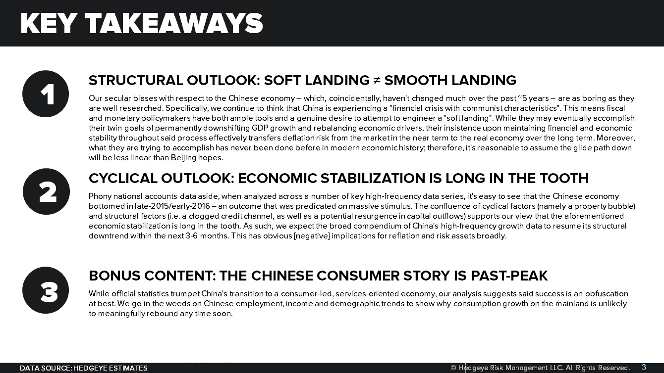 "REPLAY BROADCAST & SLIDES: ""Is China About To Slow Again?"" - Is China About To Slow Again Key Takeaways"