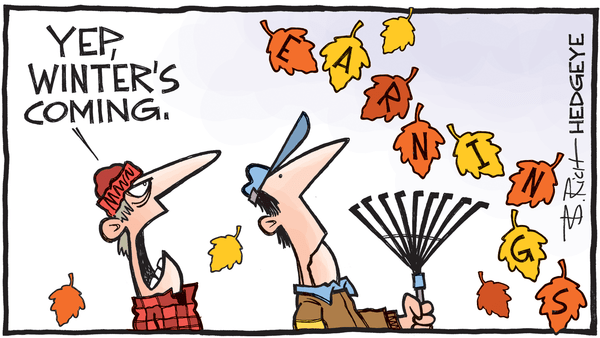 This Week In Hedgeye Cartoons - earnings cartoon 10.26.2016