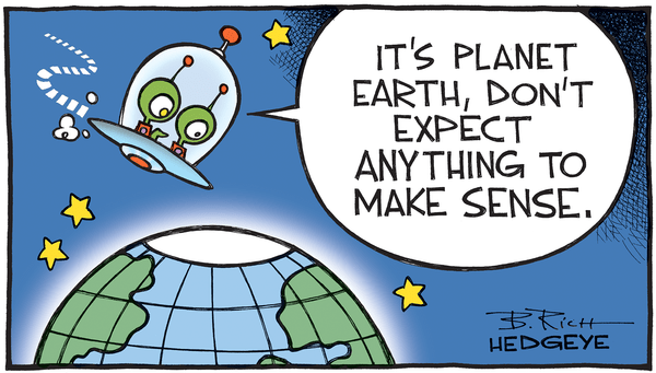 This Week In Hedgeye Cartoons - planet earth cartoon