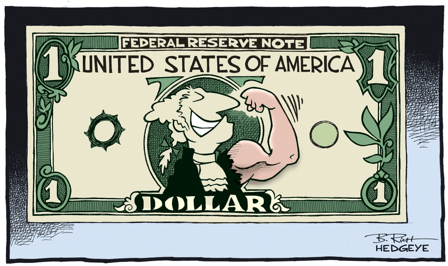 From The Vault] Cartoon of the Day: Strong Dollar