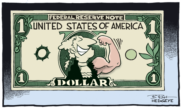 5 Cartoons: This Week on Wall Street - Dollar cartoon 03.09.2015