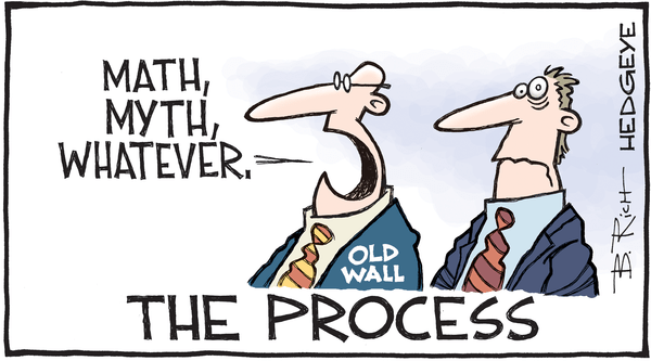 5 Cartoons: This Week on Wall Street - The Process cartoon 12.06.2016