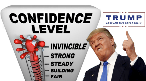All Aboard the Trump Train! Consumer, Homebuilder & Business Confidence Rising - confidence