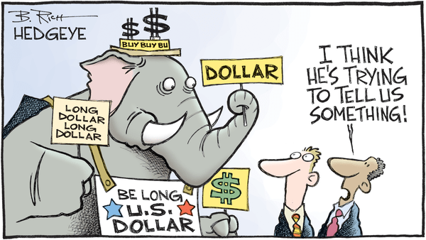 Cartoon of the Day: The Elephant in the Room - Dollar cartoon 12.22.2016