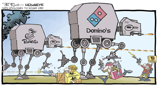 The Most Disruptive Change In the Restaurant Industry In This Generation - food delivery cartoon 01.05.2017