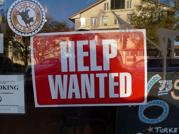 "What The Media Missed: Jobs Growth Isn't ""Surging."" It's Slowing - help wanted 1 6"