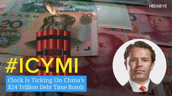ICYMI: Clock Is Ticking On China's $24 Trillion Debt Time Bomb - ICYMI 1 10 2017 CHINA