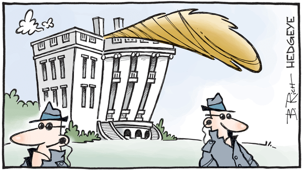 Cartoon of the Day: 1600 Pennsylvania Avenue - Inauguration cartoon