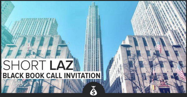 3 Reasons To Sell Lazard: Risks, Complacency & Highly Cyclical | $LAZ - short laz black book