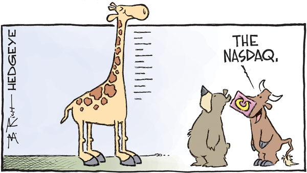 Cartoon of the Day: Animal Spirits - NASDAQ giraffe 02.09.2017