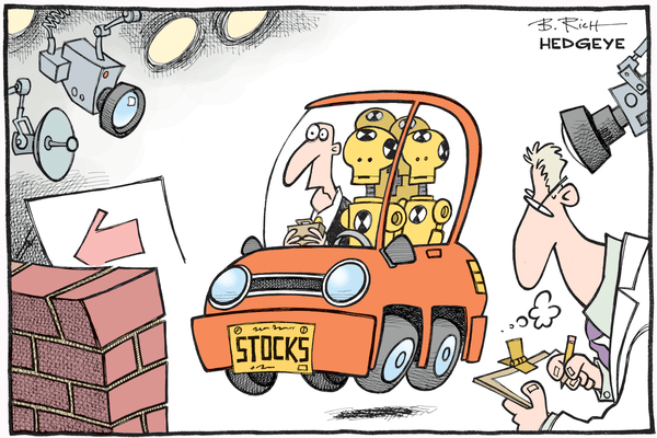 Poll of the Day: Stock Market Crash During Trump's First Term? - Stocks crash test dummies cartoon 02.18.2016