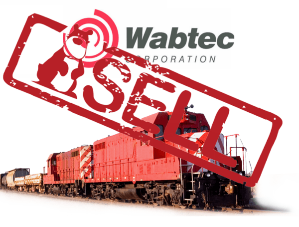 Sell Wabtec: The Beginning of a Much Bigger Unwind? - wabtec sell