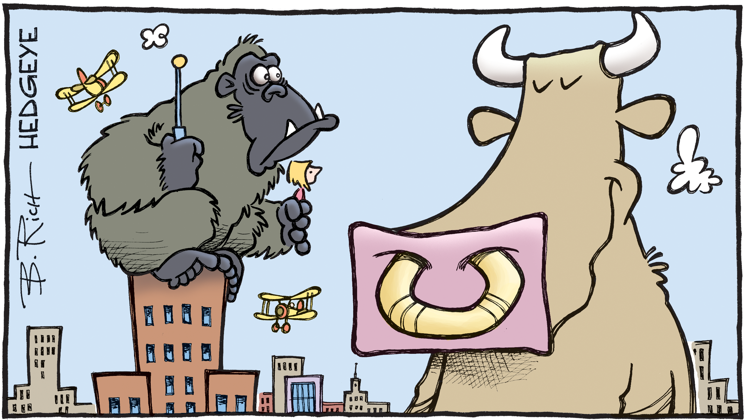 Cartoon of the Day: King Kong