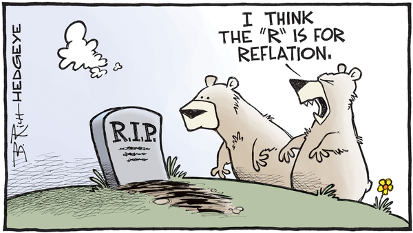 Cartoon of the Day: RIP - 04.03.2017 reflation cartoon