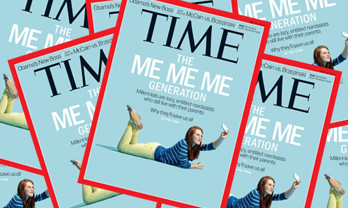 Are Millennials Actually Lazy, Narcissists? An Interview with Neil Howe - time mag me me me