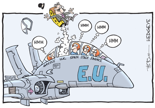 Investor Angst At All-Time Highs Ahead of French Election - EU cartoon 06.28.2016