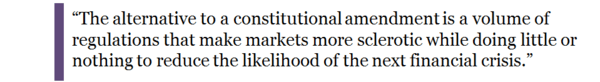 Dear Neel Kashkari, Your TBTF Plan Won't Work. This One Will - thornton quote box