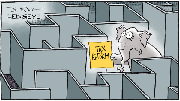 Cartoon of the Day: Mentally Taxing Reforms - 05.15.2017 tax reform cartoon