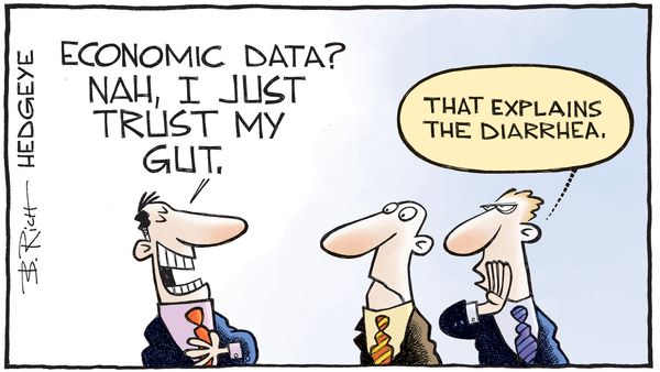 Cartoon of the Day: Trust Your Gut? - 05.17.2017 economic data cartoon