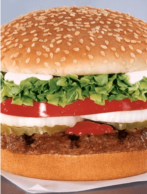 TAST/BKC – $1 DOUBLE CHEESEBURGER IS TAKING SHARE - bk