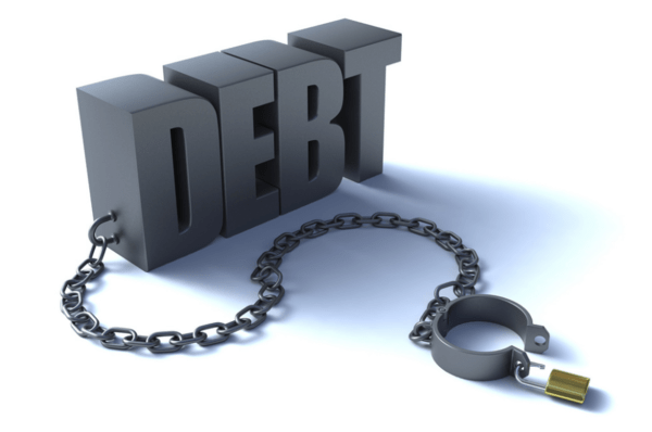 Global Debt Soars to 325% of GDP... The Fallacy of Fiscal Multipliers - debt shackle