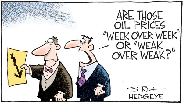 Cartoon of the Day: Crude Humor - 06.26.2017 weak oil prices