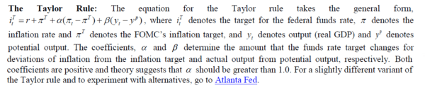 It's Time to Change the Monetary Policy Debate - taylor rule 6 27 17