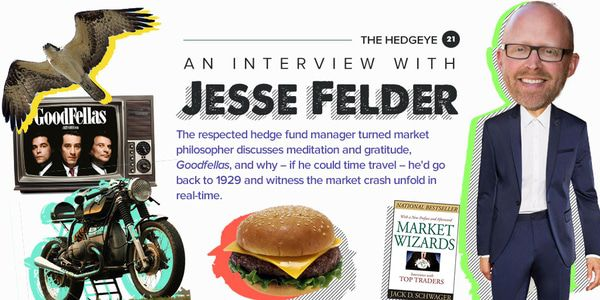 Jesse Felder Answers the Hedgeye 21 - HE 21 questionnaire jesse thumb JULY17