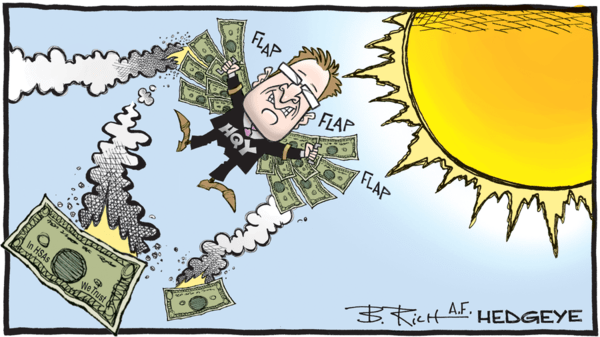 Sell HealthEquity (HQY): Flying Too Close to the Sun... 30% Downside - Health Equity cartoon
