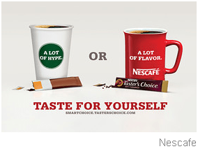 SBUX – VIA: THE COMPETITION CARES - Nescafe