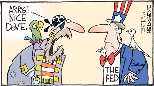 Cartoon of the Day: The Bird - 09.07.2017 Fed dove cartoon