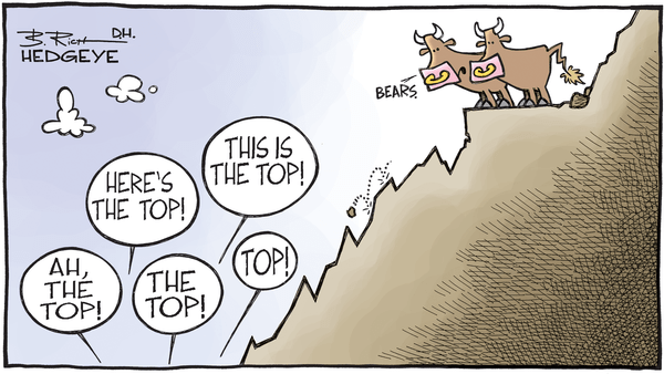 Cartoon of the Day: Lonely At the Top - 09.21.2017 bear top cartoon