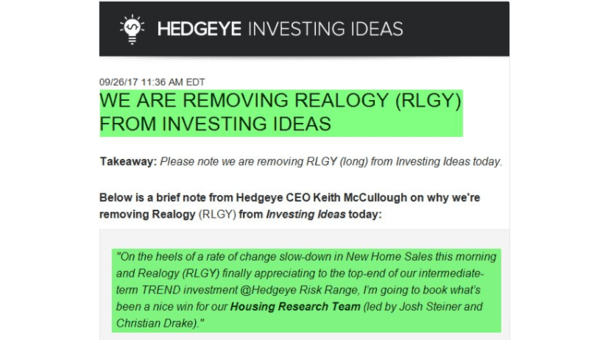 A Big 25% Win on Realogy - Realogy Inv Ideas2