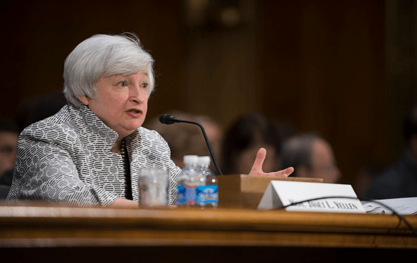 Why Would Yellen Stick Around? Big Bank Risks Are Piling Up - yellen1