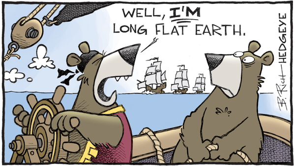 Cartoon of the Day: Columbus Day - 10.09.2017 flat earth bears